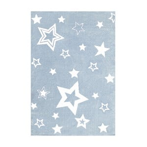 Modrý dětský koberec Happy Rugs Satrlight, 100x160cm