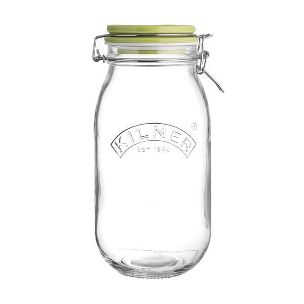 Madáreledel tartó csatos üveg, 2 l - Kilner