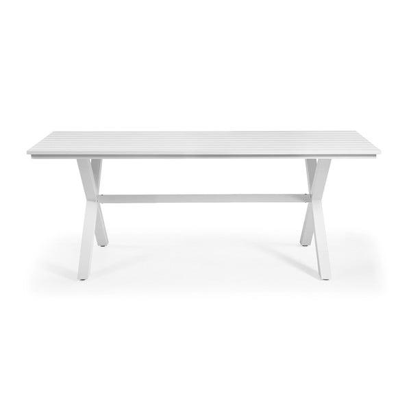 Bílý stůl La Forma Sheldon,200x90cm