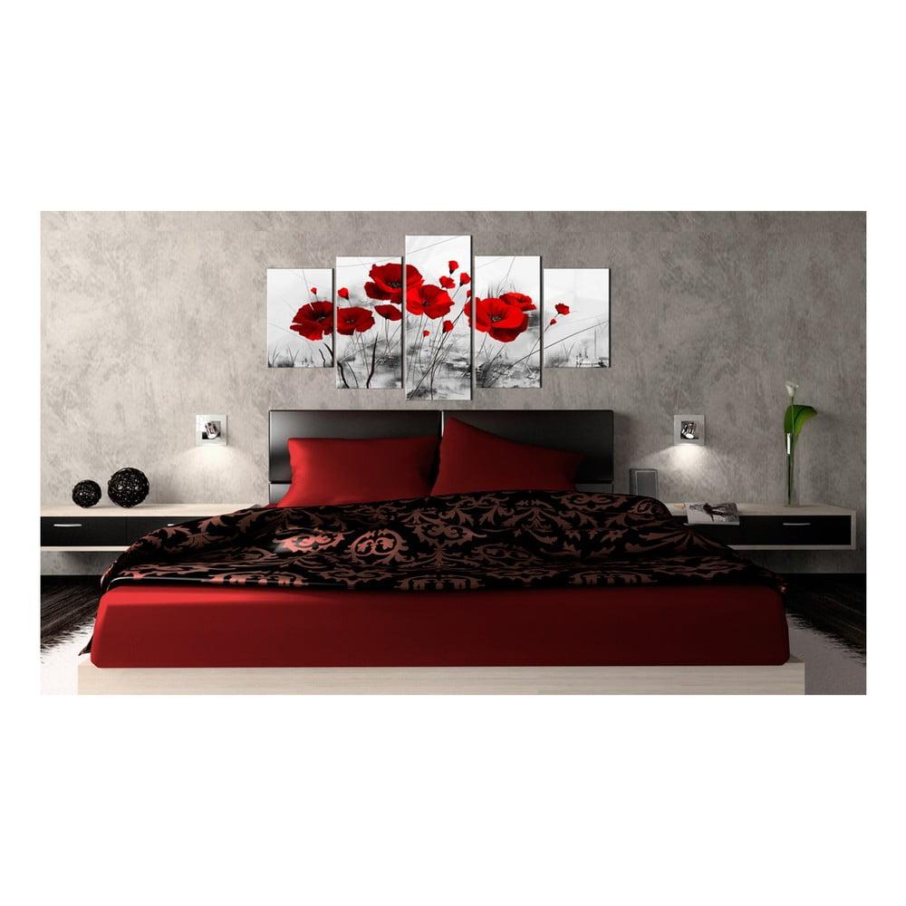Obraz na plátně Bimago Red Miracle 100x50cm
