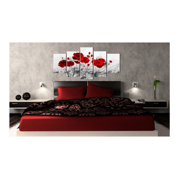 Tablou pe pânză Artgeist Red Miracle 100 x 50 cm