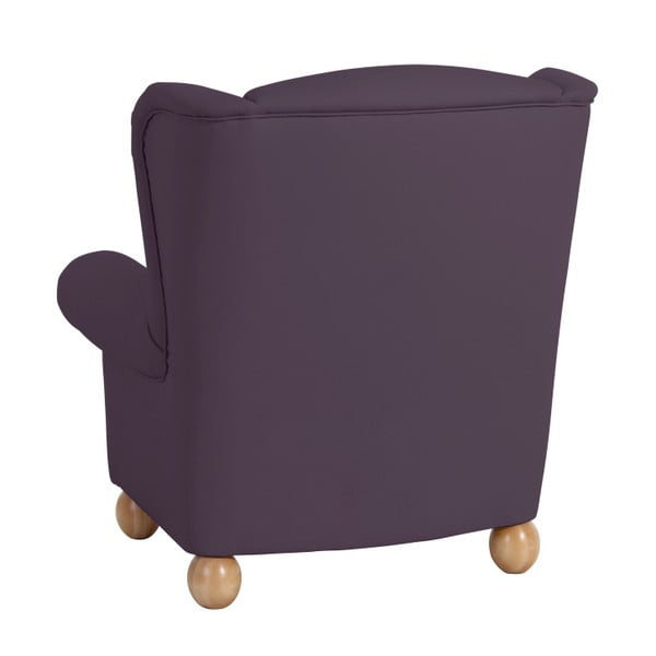 Fialové křeslo ušák Max Winzer Monarch Violet