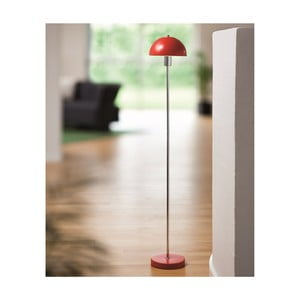 Stojací lampa Vienda, červená
