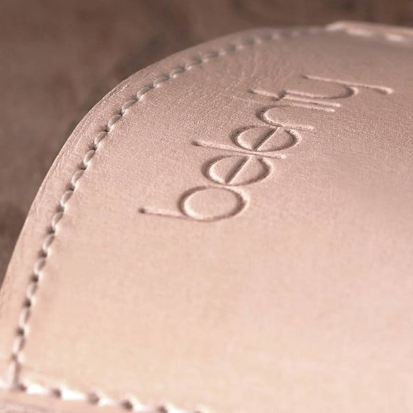 Kožený obal na iPhone 4/4s Cream