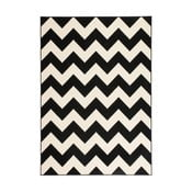 Černobílý koberec Kayoom Maroc, 200x290cm