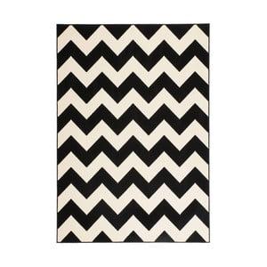 Černo-bílý koberec Kayoom Maroc, 80x150cm