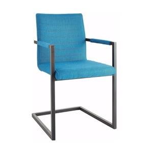 Modrá židle s područkami Støraa Stacey