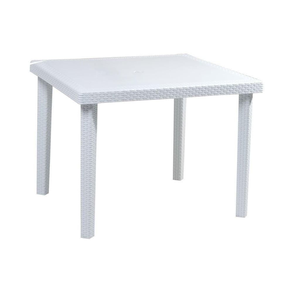 Bílý zahradní stůl Castagnetti Out