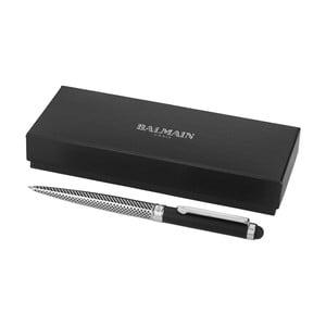 Vzorované pero s pouzdrem Balmain Empire