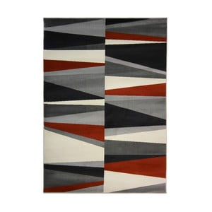 Koberec Flair Rugs Cocktail Spritz Grey Terracotta, 80 x 150 cm