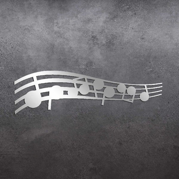 Dekorativní zrcadlo Music Notes