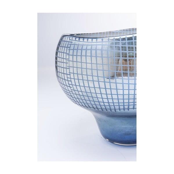 Vază Kare Design, înălțime 28 cm, albastru