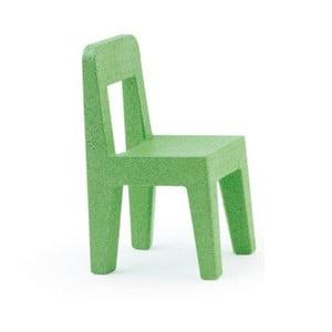 Dětská zelená židle Magis Seggiolina Pop