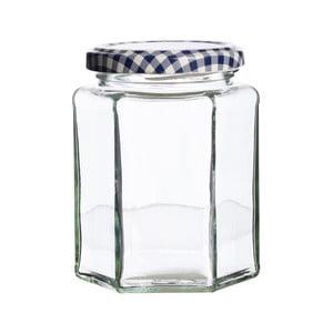 Hranatá zavařovací sklenice Kilner, 280 ml