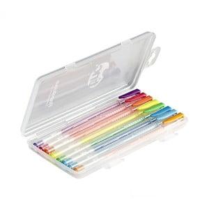 Set 8 pixuri cu gel parfumat în culori fluorescente TINC Flourolicious