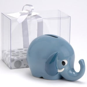 Kasička Modrý slon