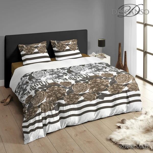 Povlečení Descanso Bed Sand, 200x200 cm