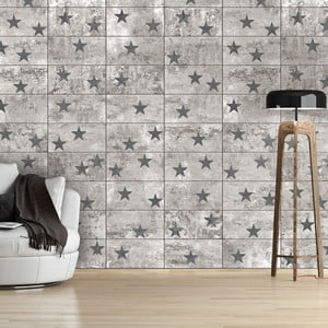 Tapeta v roli Bimago Concrete Stars, 0,5x10m
