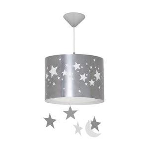 Šedé závěsné svítidlo Glimte Stars Big