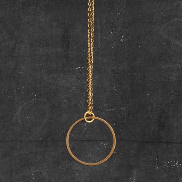 Náhrdelník Circle Gold z kolekce Geometry