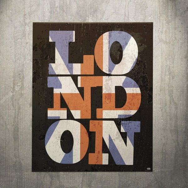 Cedule London, 28x45 cm