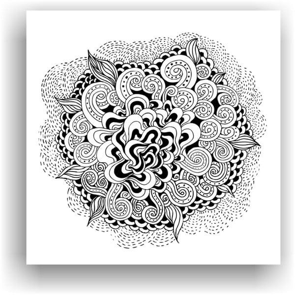 Obraz k vymalování Color It no. 2, 50x50 cm