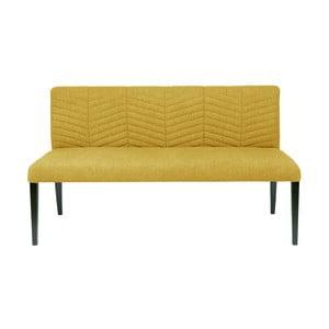 Žlutá pohovka/lavice De Eekhoorn Nora