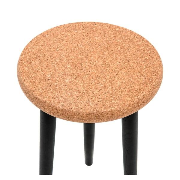 Stolička na sezení  Petur Black