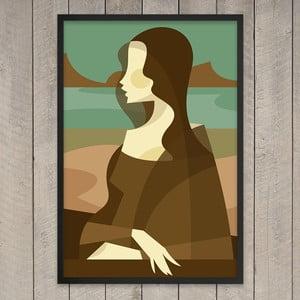 Plakát Mona Lisa, 29,7x42 cm