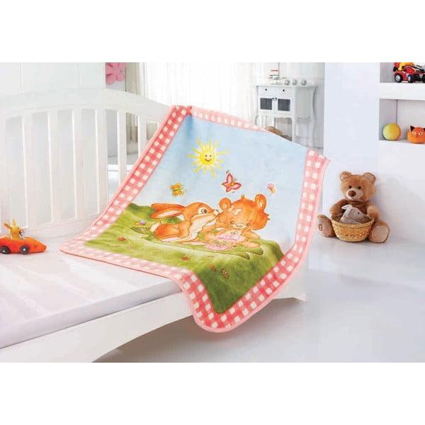 Dětská deka Baby Rabbit, 100x120 cm