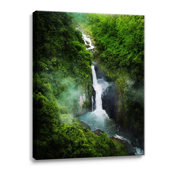 Obraz na plátně Styler Waterfall, 100 x 75 cm