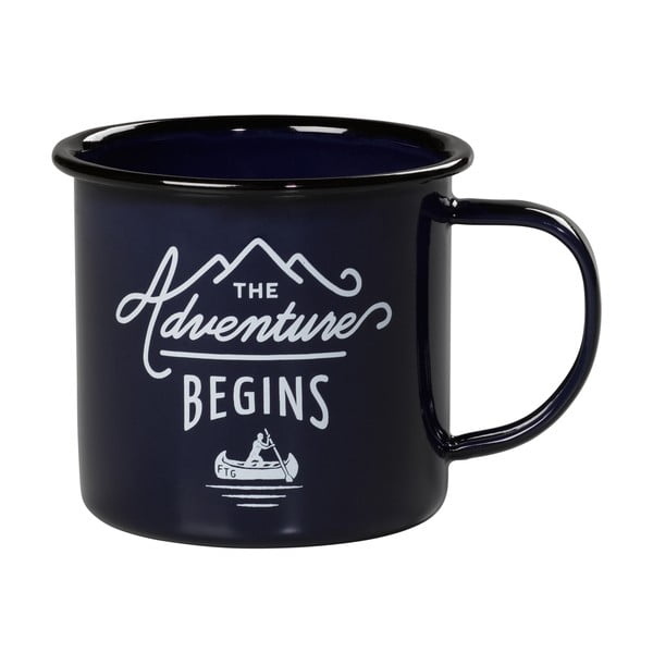 Smaltovaný hrnek Gentlemen's Hardware Enamel Mug, 300 ml