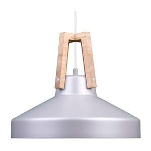 Stříbrné stropní světlo Loft You Work, 44 cm