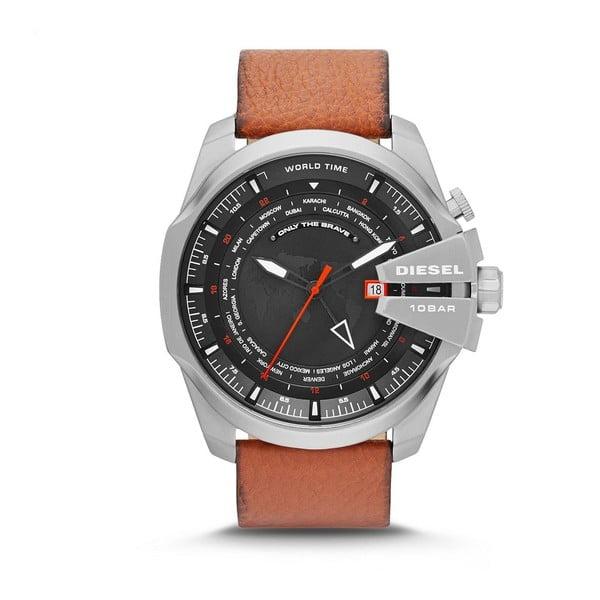 Pánské hodinky Diesel s koženým páskem Donavan