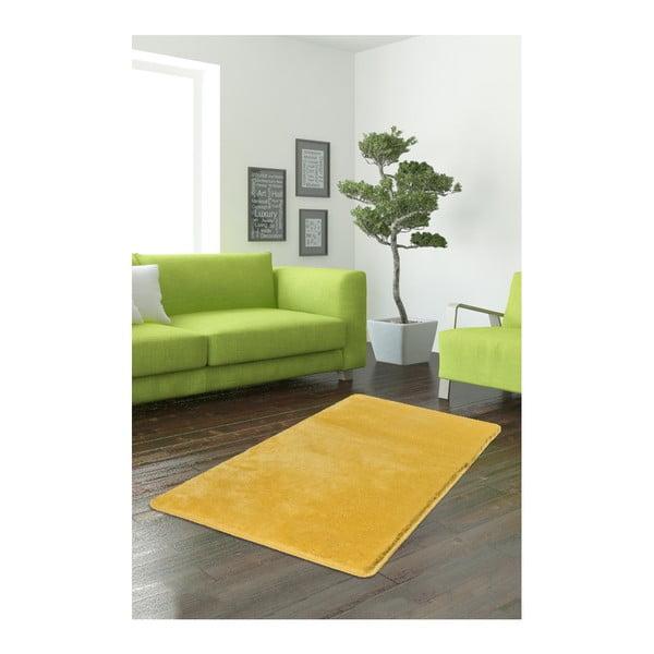 Żółty dywan Milano, 120x70 cm