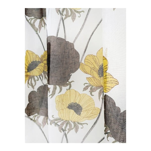 Závěs Nappisilma Yellow, 140x240 cm
