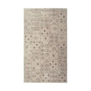Béžový koberec Floorist Mosaic Beige, 140x200cm