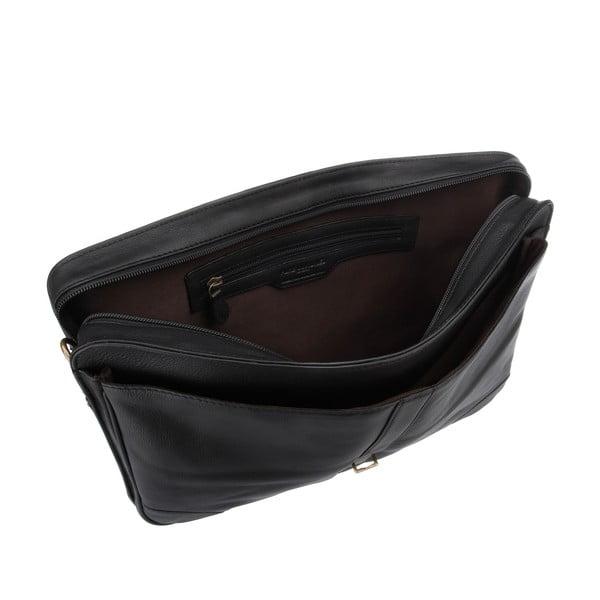 Kožená pánská taška Boris Black