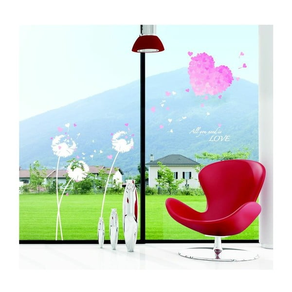 Autocolant Ambiance Pink Hearts