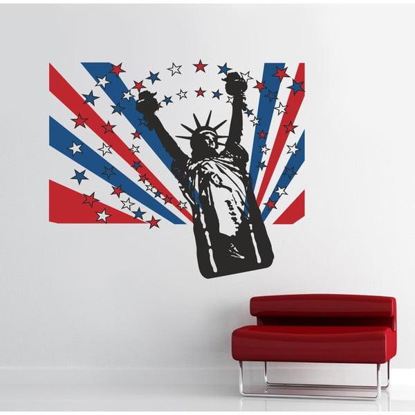 Samolepka na stěnu Socha svobody, 90x120 cm