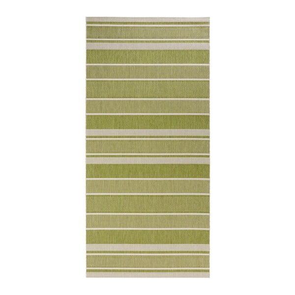Strap zöld kültéri futószőnyeg, 80 x 200 cm - Bougari