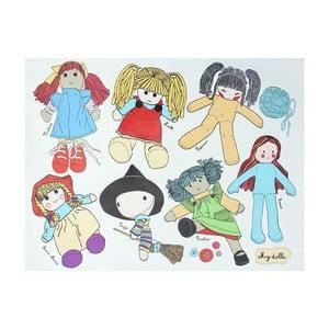 Autocolant CousCous Dolls