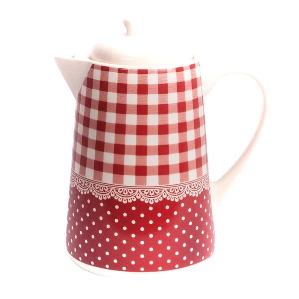 Kávová konvice Red Dots&Checks