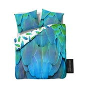 Lenjerie de pat din bumbac Dreamhouse Sky Feathers, 240 x 220 cm