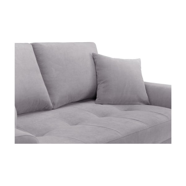 Canapea cu 2 locuri Corinne Cobson Dillinger, gri deschis
