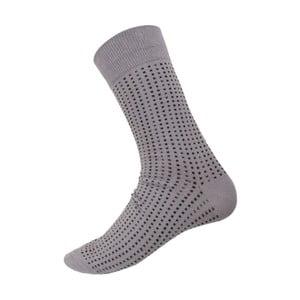 Ponožky Mini Dots Grey, velikost 40-44
