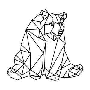 Samolepka Fanastick Origami Bear