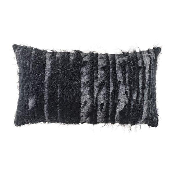 Černý povlak na polštář Apolena Donna, 50 x 31 cm