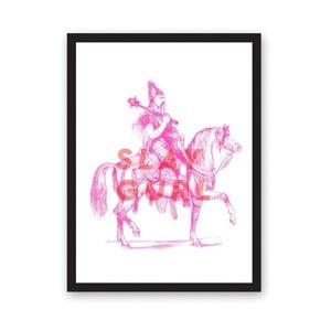 Plakát Ohh Deer Slay Gurl, 29,7 x 42 cm