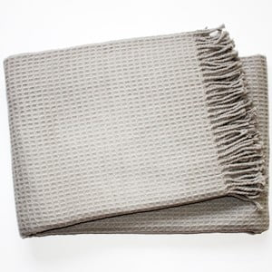 Deka Waffel Light Grey, 140x180 cm